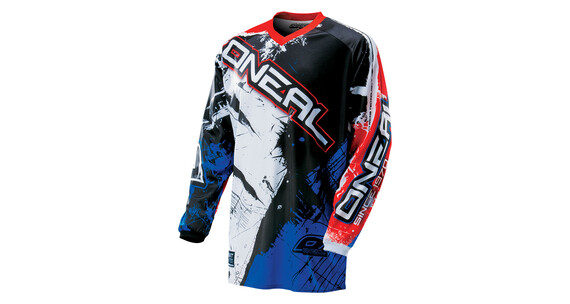 ONeal Element Jersey Men SHOCKER black/blue/red